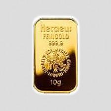 10 Gramm Goldbarren - Kinegram Münze Österreich
