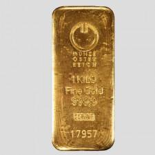 1000 Gramm Goldbarren Münze Österreich LBMA zertifiziert