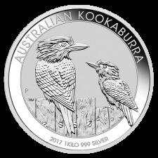 1 Kilogramm Kookaburra Silber, Differenzbesteuert § 24 UStG