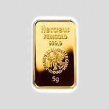 5 Gramm Goldbarren - Kinegram Münze Österreich