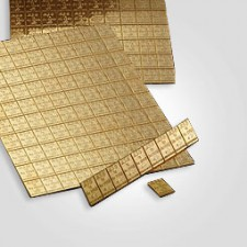 Goldtafel ™ 50 x 1 Gramm Valcambi (bzw. Heimerle+Meule)
