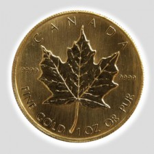 1 Unze Maple Leaf Gold