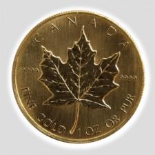 1 Unze Maple Leaf Gold