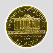 1/2 Unze Philharmoniker Gold Europrägung