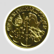 1/2 Unze Philharmoniker Gold Schillingprägung