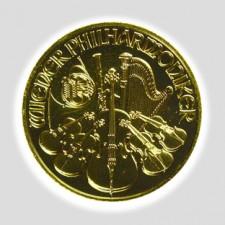 1/10 Unze Philharmoniker Gold Schillingprägung