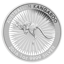 1 Unze Australien Kangaroo Silber, Differenzbesteuert  § 24 UStG